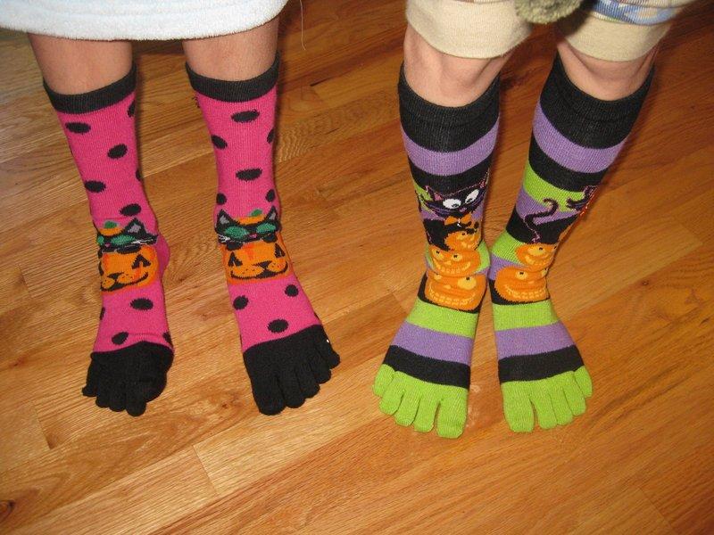 Including monkey socks polka dot socks